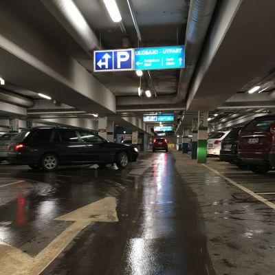 Vasas torgparkering är populär.