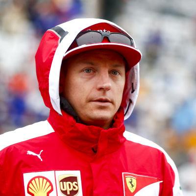 Kimi Räikkönen, hösten 2015.