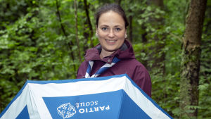 Puheenjohtaja Maria Ruohola, Suomen partiolaiset