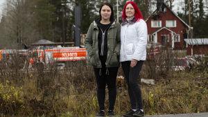 Kiia Kaltiokumpu ja Christa Kalliokumpu.