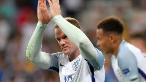 Wayne Rooney under fotbolls-EM 2016.