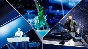 trion som finns i Finlans bidrag i esc 2019 - darude, sebastian rejman och dansaren