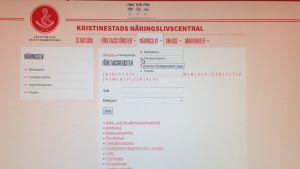 Företagsregistret i Kristinestad