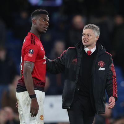 Näin Pogba johti Manchester Unitedin näytöstä Stamford Bridgella