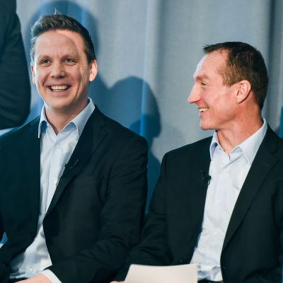 Chefstränare Lauri Marjamäki och General Manager Jere Lehtinen var glada över att få ta ut de 16 första spelarna den 2 mars.