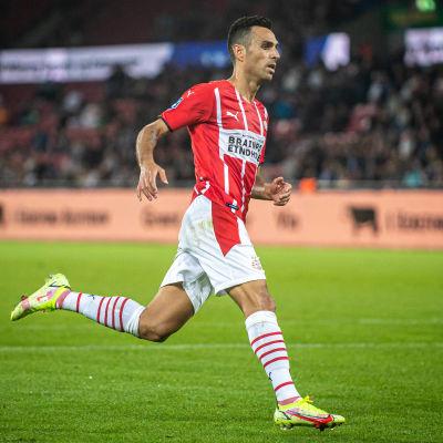 Israelen Eran Zahavi spelar till vardags för PSV.