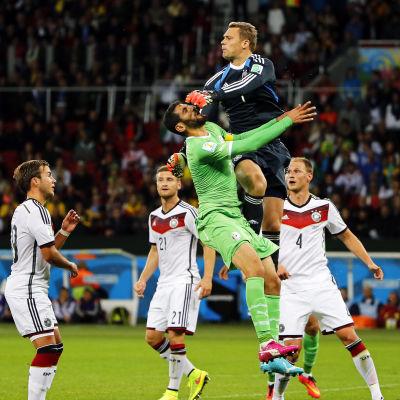 Manuel Neuer under VM 2014