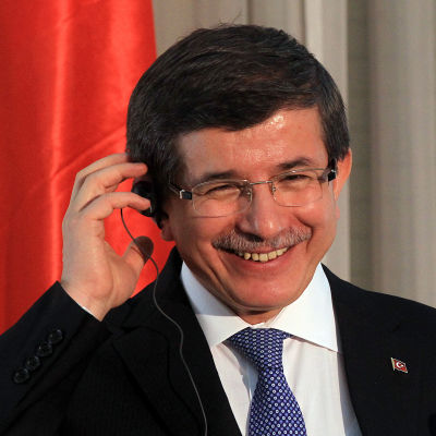 Turkiets utrikesminister Ahmet Davutoglu