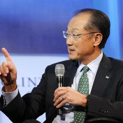 Världsbankens chef Jim Yong Kim i New York den 22 september 2014