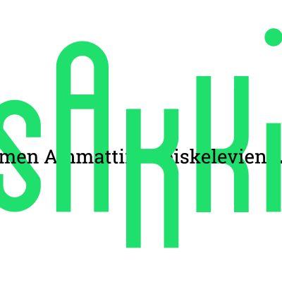 Logon för Sakki (Suomen ammattiin opiskelevien liitto), förbundet för yrkesstuderande.