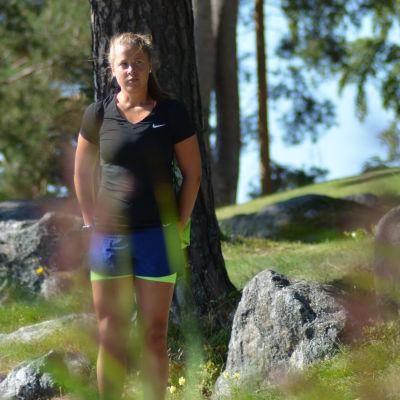 Aino Luoma bor och tränar i Vasa.