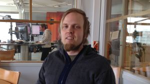 Jonas Ahlskog från FBF ordnar diskussion kring demokrati framtidens EU
