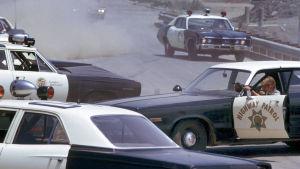Kuva elokuvasta Puhallettu 60 sekunnissa (1974).