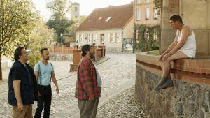 Frank Auerbach, Ismail Sahin, Matthias Brenner och Oliver Marlo spelar fyra vänner med problem.