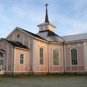 Övermark kyrka.
