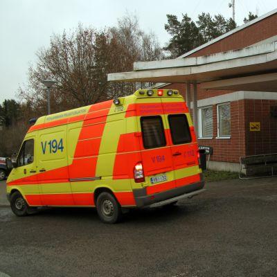 Hälsovårdscentralen i Vasa.