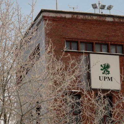 UPM på Alholmen i Jakobstad.