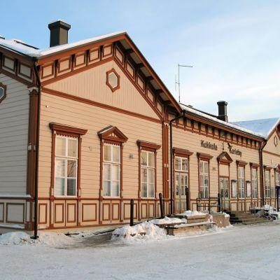 Stationshuset i Karleby.
