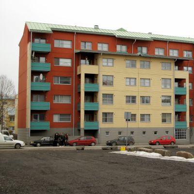 Pikipruukkis fastighet på Stationsgatan i Vasa.
