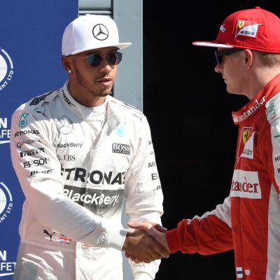 Hamilton, Räikkönen
