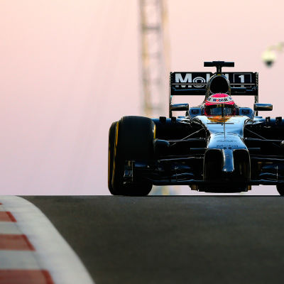 Jenson Button, McLaren, hösten 2014