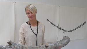 Sandra Nyberg.