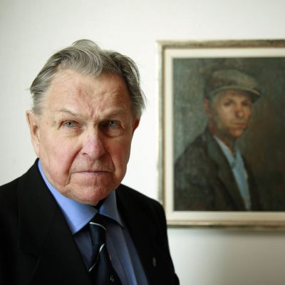 Konstnären Tapani Raittila.