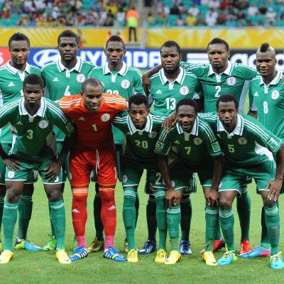 Nigeria vid Confederations Cup 2013.