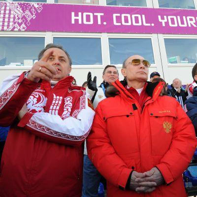Vladimir Putin, OS 2014