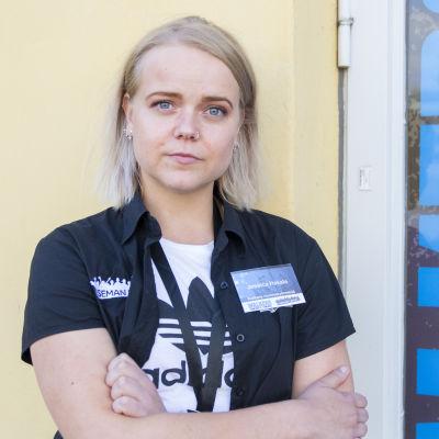 Jessica Hakala, Walkers-nuorisotyöntekijä, Walkers-talo