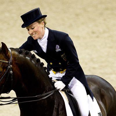 Helen Langehanenberg och hästen Damon Hill, OS 2012