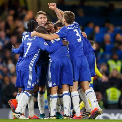 Chelsea firar mål