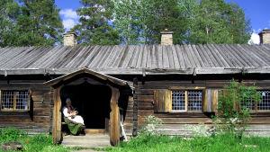 Perinnerakennus Jämtlannissa Ruotsissa