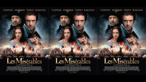 Filmplanschen till Les Misérables.