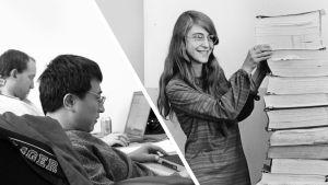 Dataprogrammerare och Margaret Hamilton.