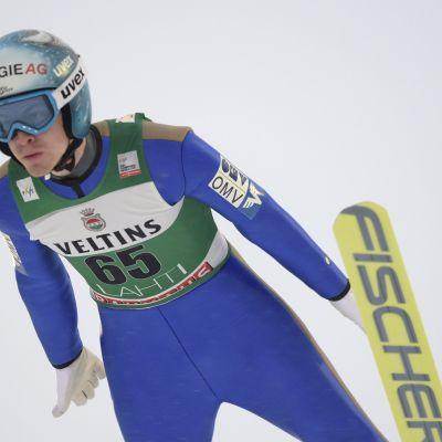 Michael Hayböck vass i Lahtis.