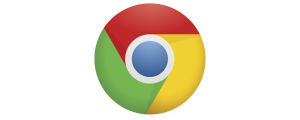 Chrome-selaimen graafinen ikoni.