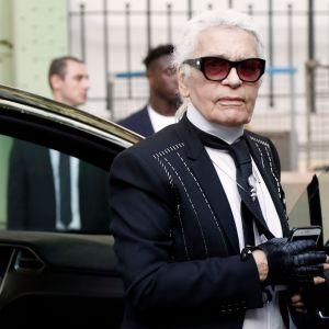 Modeskaparen Karl Lagerfeld