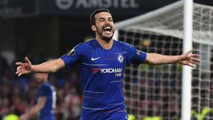 Pedro firar sitt mål.