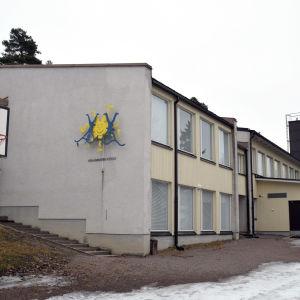Päivärinteen koulu i Sjundeå.