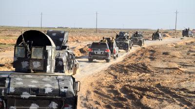 Irakiska styrkor ryckar fram mot centrum av provinshuvdudstaden Ramadi