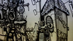 Graffiti från One Truth Bros