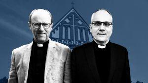 biskopskandidaterna Sixten Ekstrand och Bo-Göran Åstrand