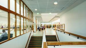 Kampusbiblioteket i Otnäs, Esbo.
