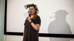 Koomikko Anna Rimpelä