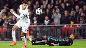 Dele Alli dominerade när Tottenham slog Real Madrid i Champions League.