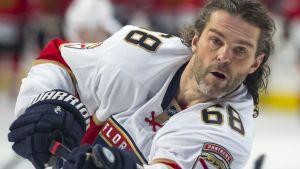 Jaromir Jagr är legendarisk i NHL.