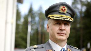 Arméns kommendör Petri Hulkko.