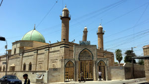 Moskén Al-Noori Al-Kabeer där IS utropade sitt kalifat