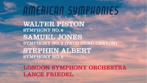 American Symphonies äänitteen kansi
